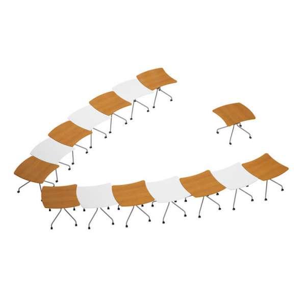 Table de réunion pliante made in France - Kali - 7