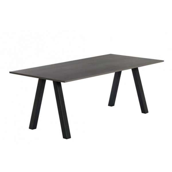 Table snack moderne stratifié avec pieds obliques - Veneto - 1