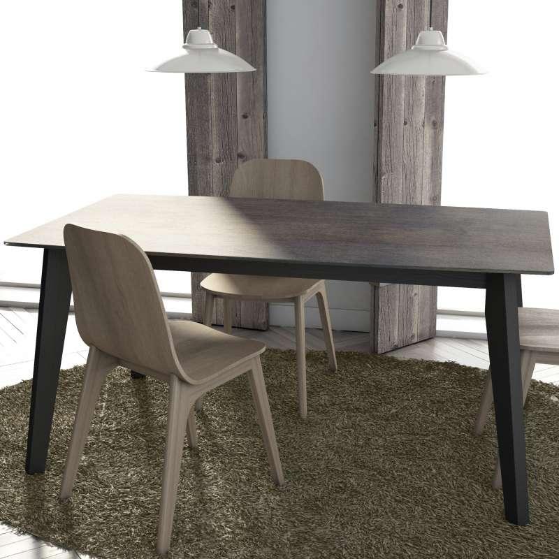céramique moderne Table en elliptique rectangle Eclipse forme extensible zLqSMVGpU