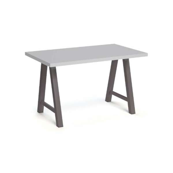 Table hauteur 90 cm moderne de salle à manger en stratifié - Querido - 8
