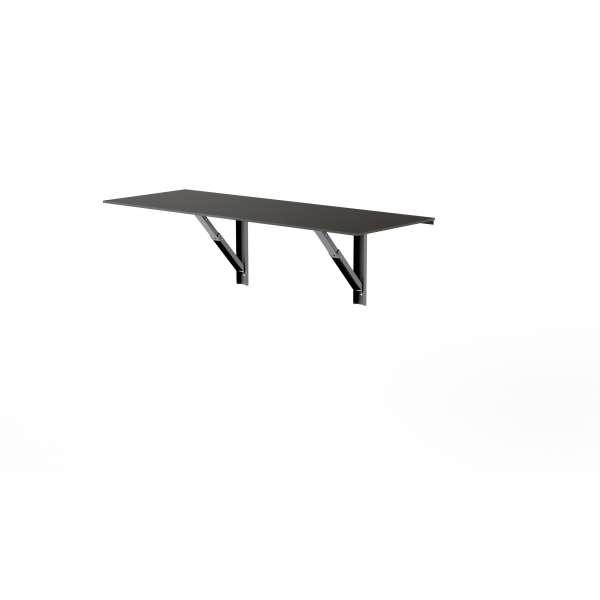 Table murale rabattable en verre - Vulcano 2 - 4