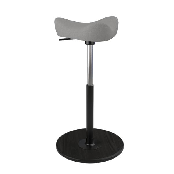 Tabouret ergonomique en tissu gris - Move Small Varier® - 3