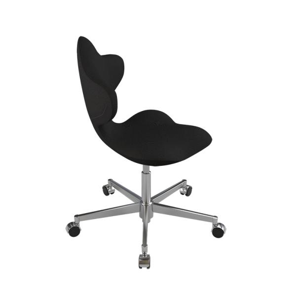 Chaise ergonomique en tissu noir et métal - Active Varier® - 8