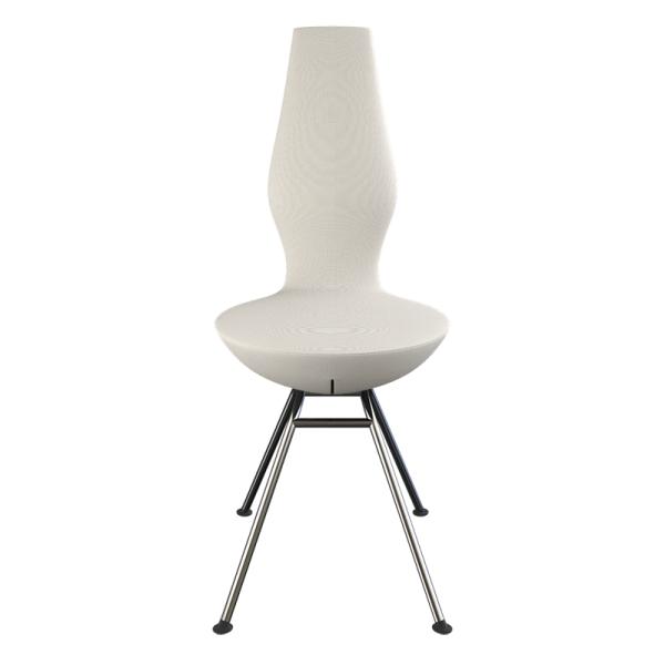 Chaise ergonomique blanche  Date Varier® - 10