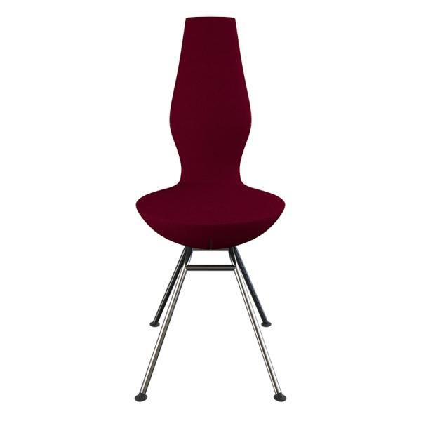 Chaise moderne ergonomique rouge Date Varier® - 3