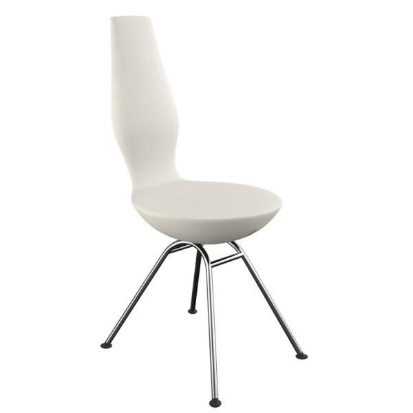 Chaise design ergonomique blanche Date Varier® - 9
