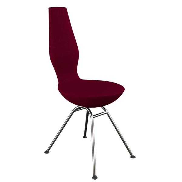 Chaise design ergonomique en tissu et métal - Date Varier®