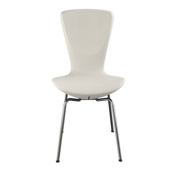 Chaise ergonomique Varier en tissu blanc et métal - Invite Varier® - 10