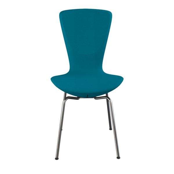 Chaise ergonomique Varier en tissu bleu et métal - Invite Varier® - 13