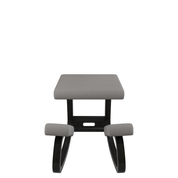 Chaise de bureau ergonomique à bascule en tissu gris - Variable Varier® - 28