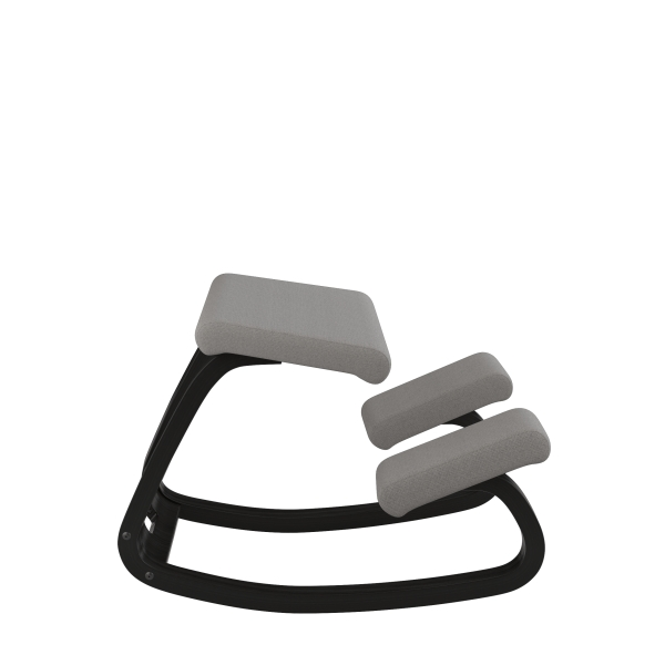 Chaise ergonomique à bascule en tissu gris - Variable Varier® - 30