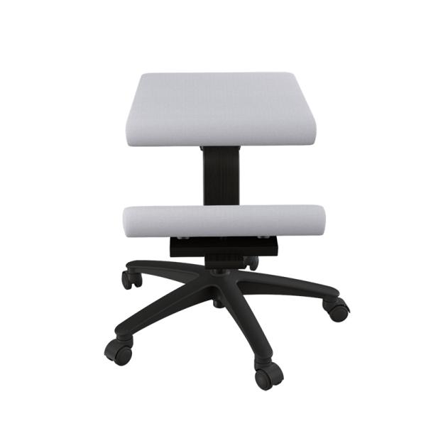 Siège ergonomique sur roulettes en tissu gris - Wing Varier® - 15