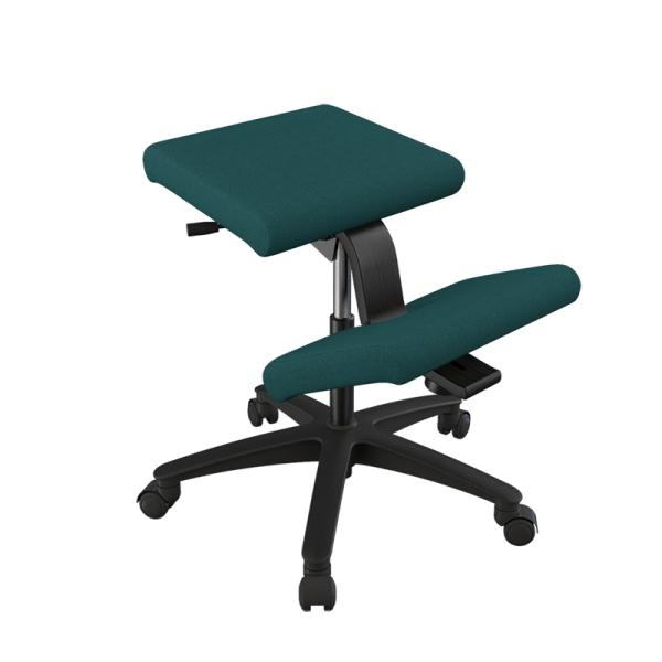 Siège ergonomique Varier en tissu vert sur roulettes - Wing - 10