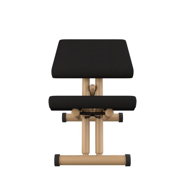 Chaise ergonomique en tissu noir et bois naturel - Multi Varier® - 5