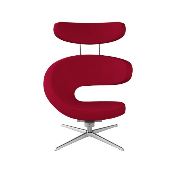 Fauteuil ergonomique haut de gamme rouge - Peel Varier® - 9