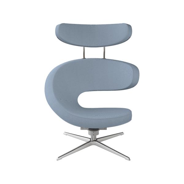 Fauteuil relax haut de gamme bleu ciel - Peel Varier® - 11