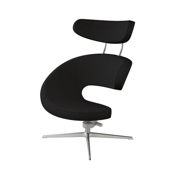 Fauteuil ergonomique design noir - Peel Varier® - 7