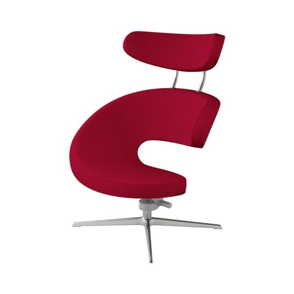 Fauteuil design ergonomique rouge - Peel Varier® - 8