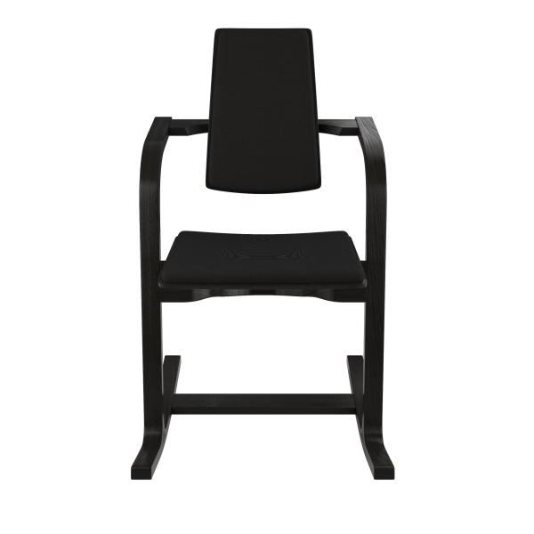 Fauteuil à bascule ergonomique en tissu noir - Actulum Varier® - 22