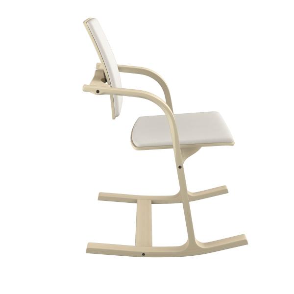 Fauteuil ergonomique en tissu blanc - Actulum Varier® - 24