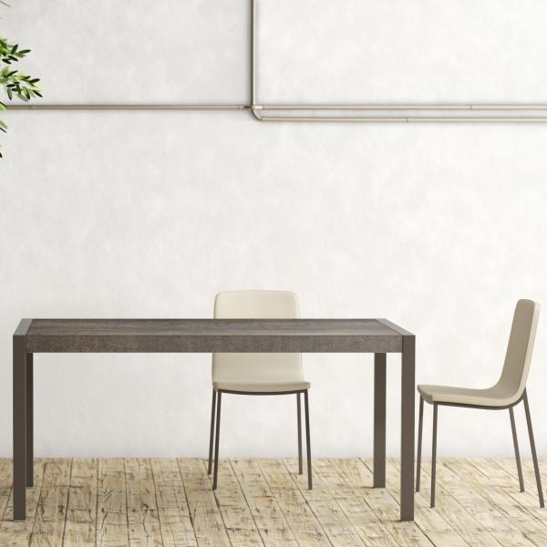 Table en céramique extensible - Concept métal - 3