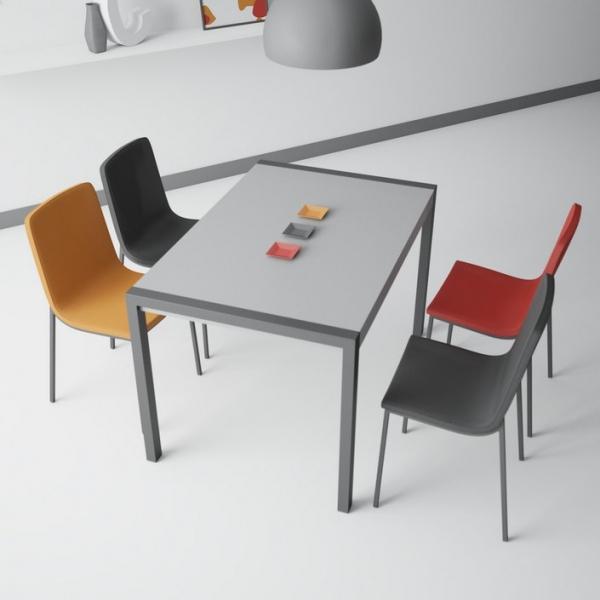 Table en céramique extensible - Concept métal - 2