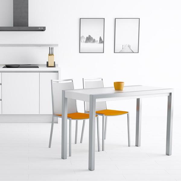 Table en verre extensible pour petit espace - Concept Minor - 1