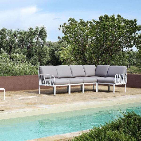 Canapé modulable d'extérieur 5 places - Komodo - 1