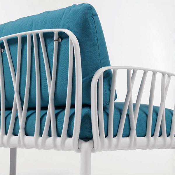 Canapé modulable de jardin 5 places - Komodo - 16