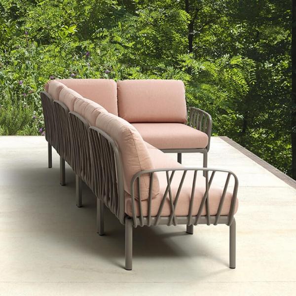 Canapé transformable d'extérieur 5 places - Komodo - 3