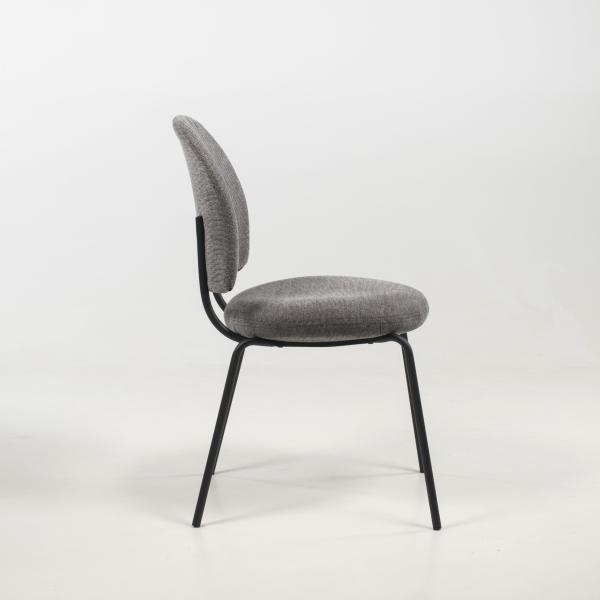 Chaise coloris gris - Lilas - 11
