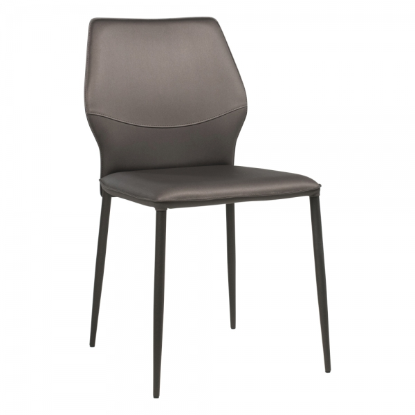 Chaise moderne italienne rembourrée - Wind IV - 1