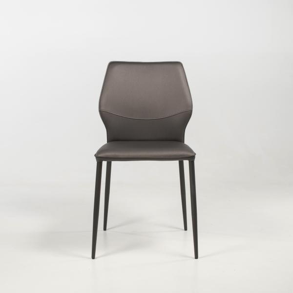 Chaise design italienne rembourrée - Wind IV - 3