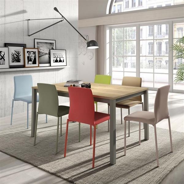 Table de cuisine rectangulaire en stratifié - Vienna - 1
