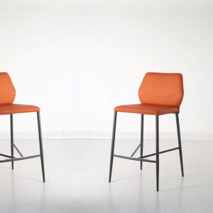 Tabouret moderne italien orange - Wind IV SG