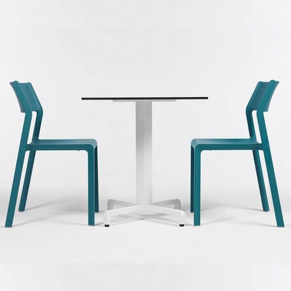 Chaise de terrasse empilable en polypropylène - Trill bistrot - 3