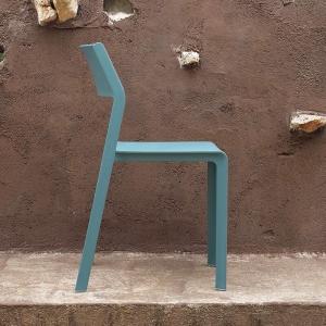 Chaise de jardin empilable en polypropylène - Trill bistrot