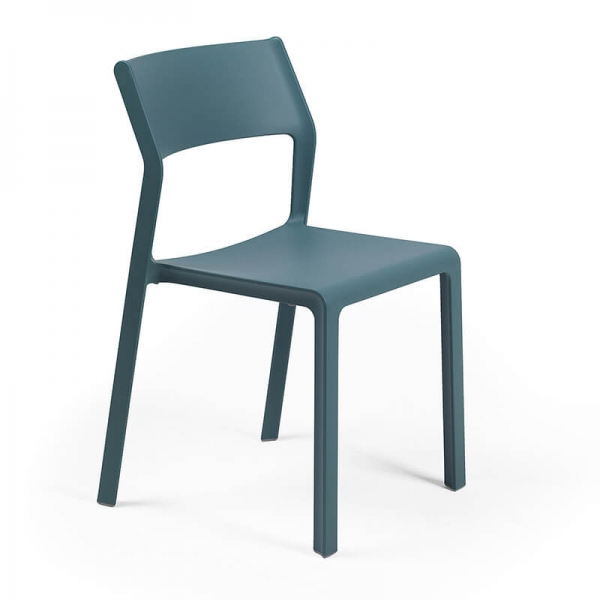 Chaise moderne en polypropylène octane empilable - Trill bistrot - 11