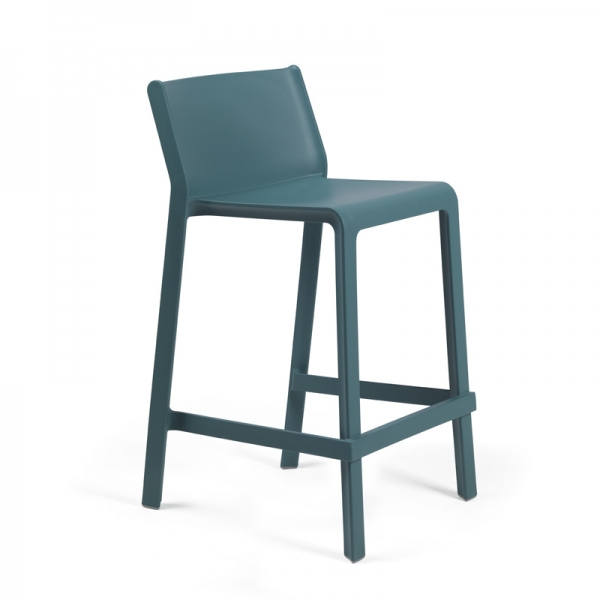 Tabouret snack en polypropylène empilable - Trill mini