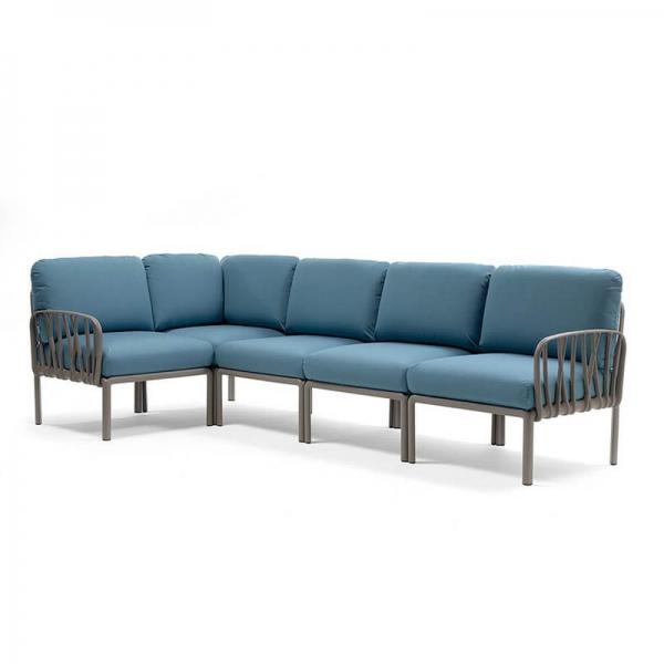 Canapé d'angle modulable 5 places - Komodo - 15