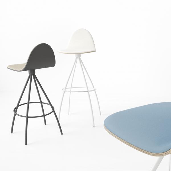 Tabouret design - Petris - 3