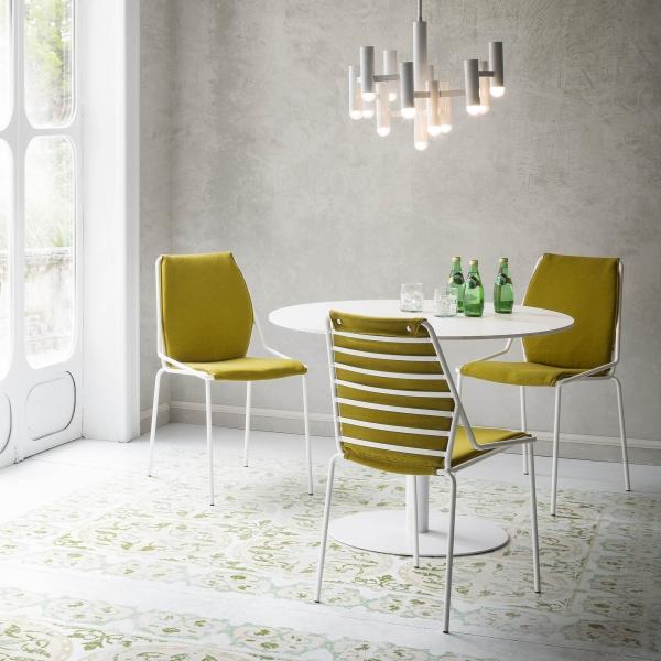 Chaise en fil métal design - Link - 8