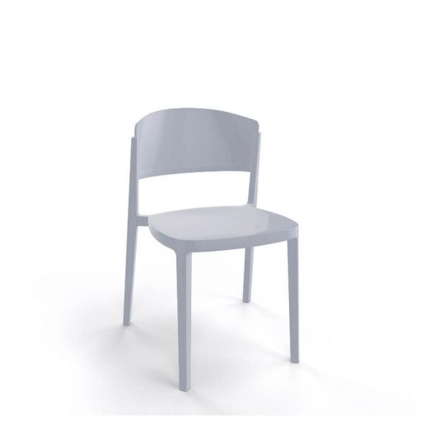 Chaise moderne empilable en technopolymère - Abuela - 17