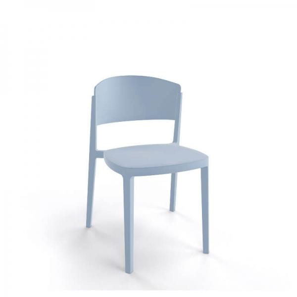 Chaise moderne empilable en technopolymère - Abuela - 19