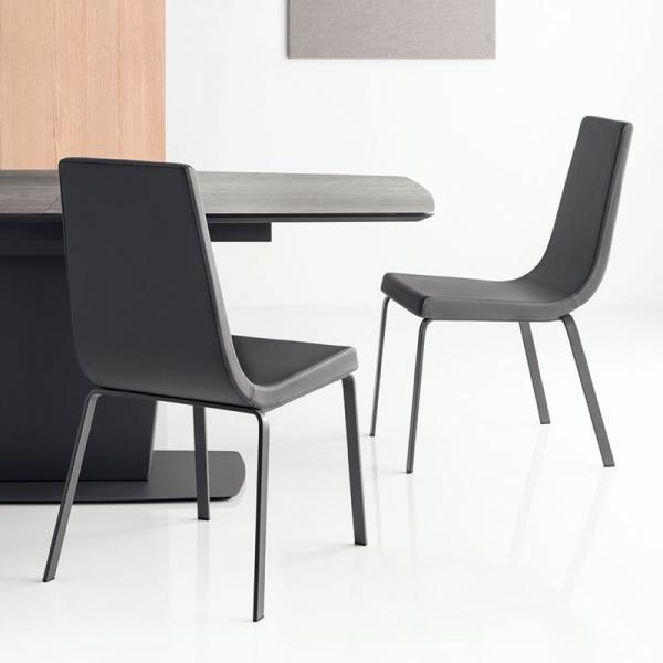 Table rectangulaire extensible en céramique - Athos Connubia® - 3