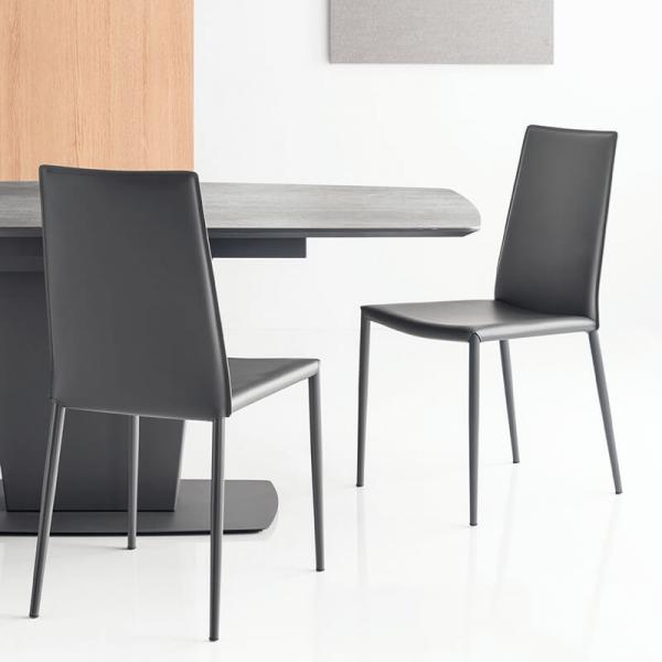 Table de salle à manger extensible en céramique - Athos Connubia® - 4