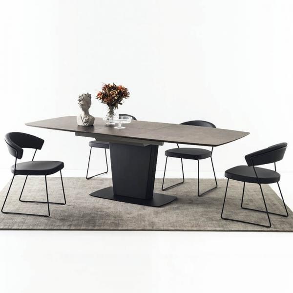 Table de salle à manger rectangulaire en céramique - Athos Connubia® - 6