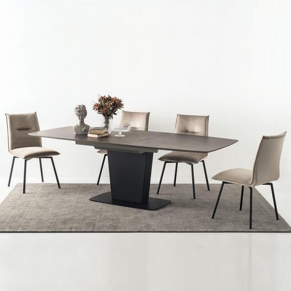 Table de salle à manger avec allonges en céramique - Athos Connubia® - 8