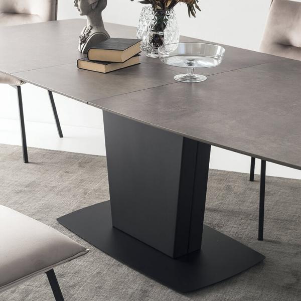 Table rectangulaire extensible en céramique - Athos Connubia® - 9