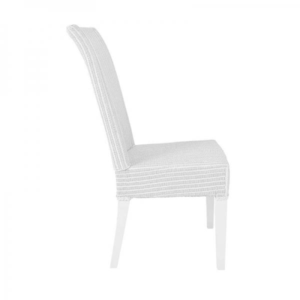Chaise tressée blanche - Joséphine - 8